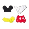 Disney 4 Pin Set - Mickey Mouse Icons