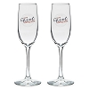 Disney Wine Flute Glass Set - 2017 Epcot Food and Wine Festival