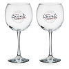 Disney Red Wine Glass Set -2017 Epcot Food and Wine Festival