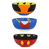 Disney Bowl Set - Mickey Mouse and Friends Character Bowl Set