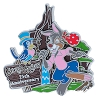 Disney Magic Kingdom Pin - Splash Mountain 25th Anniversary Brer