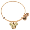 Disney Alex and Ani Bracelet - Mickey Icon Halloween Bangle - Gold