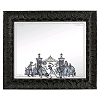 Disney Framed Mirror - Haunted Mansion - Hitchhiking Ghosts