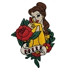Disney Iron On Patch by Loungefly - Beauty and the Beast Belle Tattoo