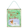 Disney Retro Door Sign - Bambi and Thumper - Every Day is a Snow Day