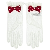 Disney Gloves - Minnie Mouse Lace for Women - Small/Medium