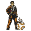 Disney Star Wars Pin - The Last Jedi - Poe Dameron & BB-8
