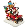 Disney Holiday Figure - Santa Mickey, Minnie, Donald, Goofy in Car