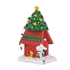 Peanuts Village - Snoopy and Woodstock Christmas Dog House