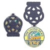 Disney Epcot Pin - 35th Anniversary Countdown - The Living Seas