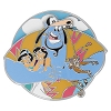 Disney Aladdin Pin - 25th Anniversary - Genie Hug