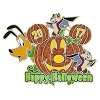 Disney Halloween Pin - 2017 Happy Halloween - DVC Pluto Chip and Dale