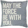 Disney Star Wars Throw Pillow - May The Force Be With You