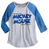 Disney Women's Shirt - Mickey Mouse Timeless Raglan Baseball T-Shirt