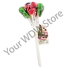 Disney Christmas Candy - Holiday Santa Mickey Cherry Lime Lollipops