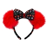 Disney Holiday Headband - Minnie Mouse Ear Headband - Holiday Sweater