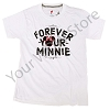 Disney Ladies Shirt - Forever Your Minnie Tee