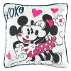 Disney Throw Pillow - Mickey and Minnie Love XOXO