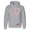 Disney Adult Hoodie - Epcot 35th Anniversary Logo - Grey