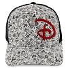 Disney Baseball Cap - Park Icons with Red D