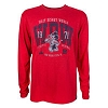 Disney Men's Shirt - Collegiate Mickey Mouse Long Sleeve T-Shirt