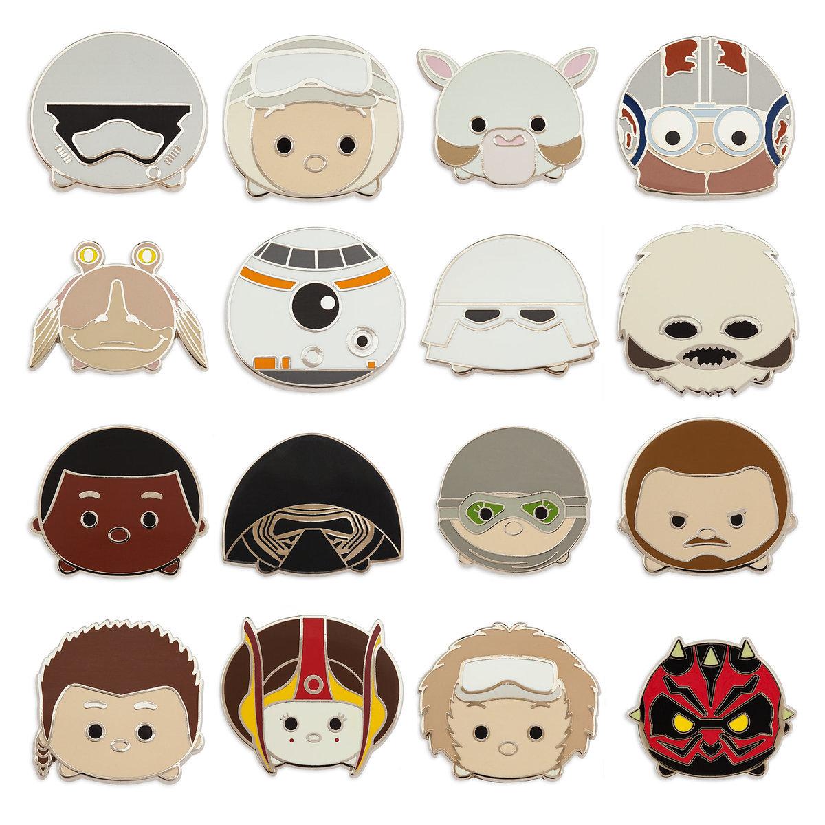 Disney Mystery Pins - Disney Tsum Tsum - Star Wars 2
