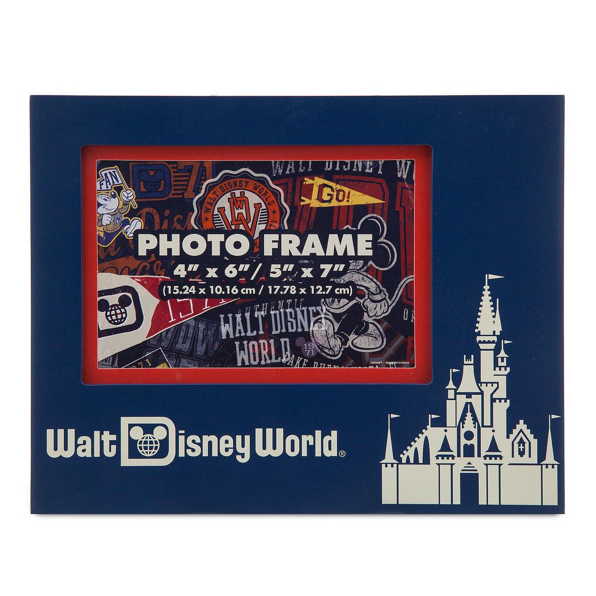 disney photo frame disney world castle 4x6 or 5x7 picture frame - Disney World Picture Frames