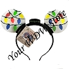 Disney Light Up Headband - Happy Holidays - Christmas Lights