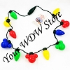 Disney Light Up Necklace - Happy Holidays - Christmas Lights