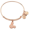 Disney Alex & Ani Bracelet - Snowflake Mickey Ears - Rose Gold