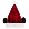 Disney Santa Christmas Holiday Hat - Mickey Mouse Santa Hat with Ears