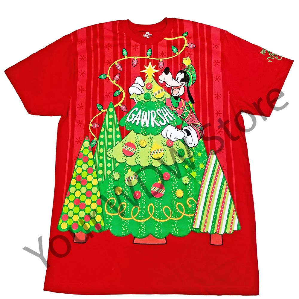 Your Wdw Store Disney Adult Shirt Mickey S Very Merry Christmas Party Tee 2017