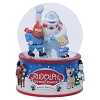 SeaWorld Musical Snow Globe - Rudolph the Red Nosed Reindeer