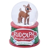 SeaWorld Mini Snowglobe - Rudlolph the Red Nose Reindeer