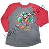 Disney Adult Long Sleeve Shirt - Very Merry Christmas Party Tee 2017
