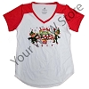 Disney Ladies Holiday Shirt - Jingle Bell Jingle Bam Prep and Landing