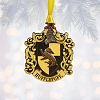 Universal Ornament - Harry Potter Enameled Metal Hufflepuff Crest