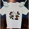 Disney Adult Shirt - Mickey and Minnie Holiday Mistletoe