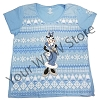 Disney Ladies Shirt - Clarabelle Cow Holiday Sweater Tee