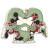 Disney Holiday Pin - Mickey and Minnie Kiss