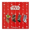 Disney 4 Pin Set - Holiday Star Wars Stockings