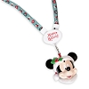 Disney Holiday Lanyard - Christmas Light-Up Santa Mickey - Green