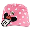 Disney Kids Cadet Cap - Minnie Mouse Pink Hat
