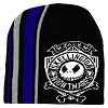 Disney Adult Beanie Hat - Jack Skellington - Striped