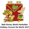 Disney Holidays Around The World Pin - 2017 Passholder Donald