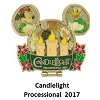 Disney Holidays Around The World Pin - 2017 Candlelight Processional