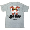 Disney Men's Shirt - Santa Mickey Holiday Costume Tee