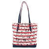Disney Tote Bag - Mickey and Minnie Sweethearts - Bonus Wristlet