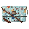 Disney Dooney & Bourke Bag - Disney Dogs Foldover Zip Crossbody