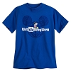 Disney Child Shirt - Mickey Mouse Disney World Globe - Blue
